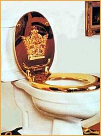Vilken underbar toalett!!!